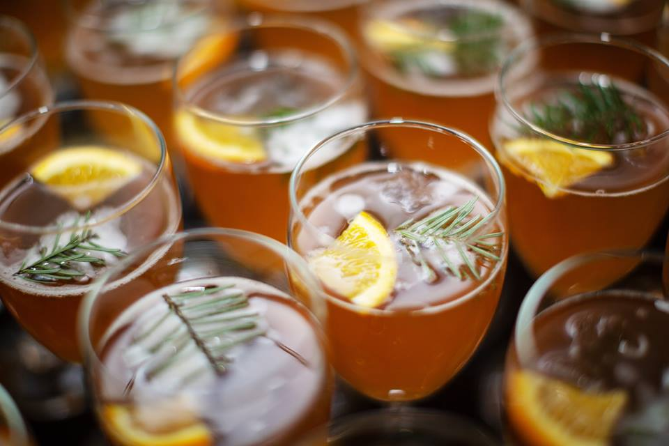 Photo Marie-Josée Dubé- Cocktail Témis Spritz