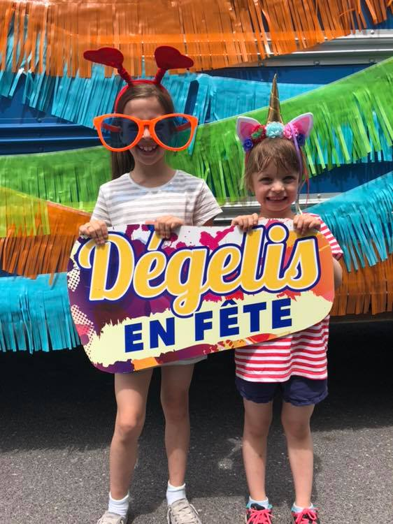 photo dégelis en fête