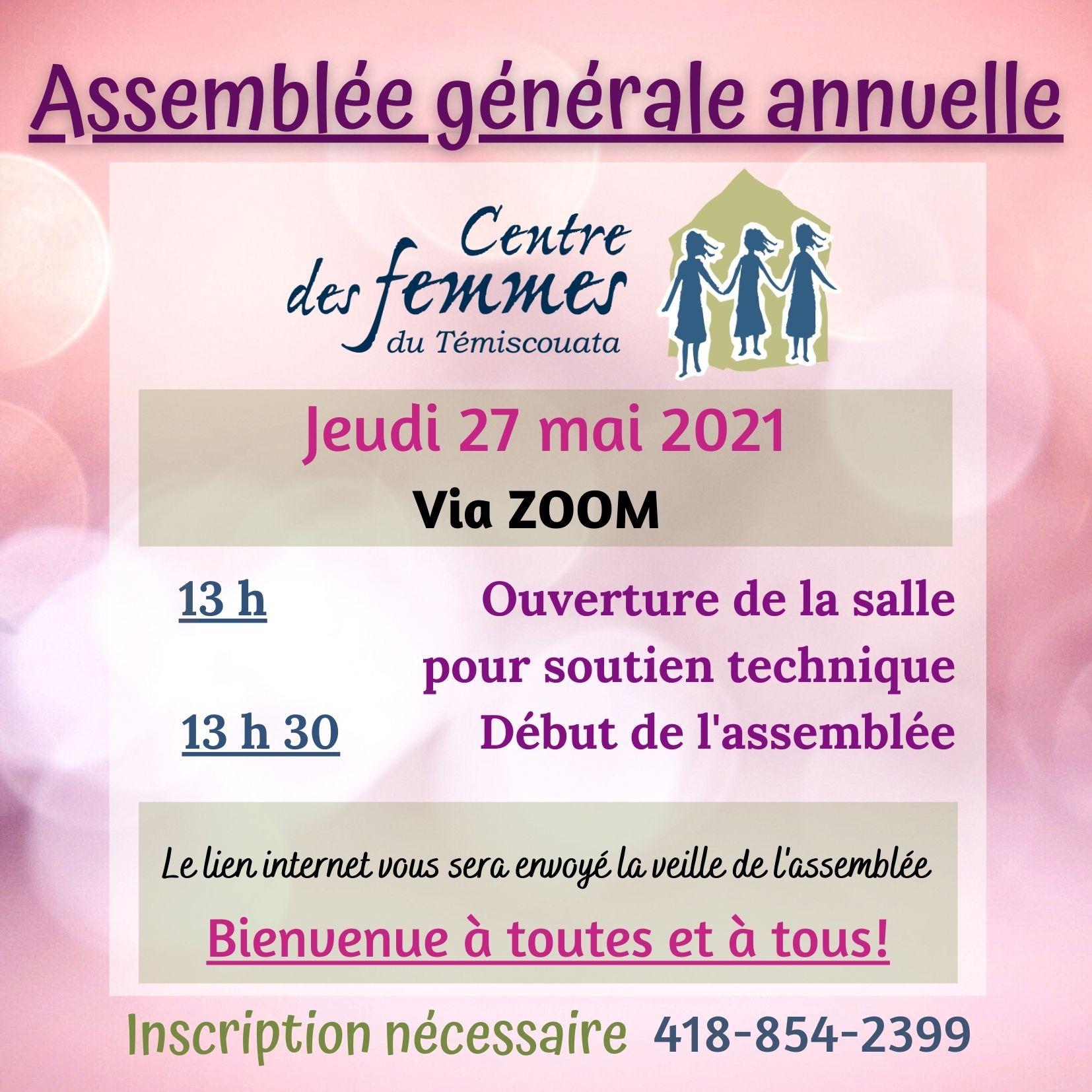 affiche AGA 2021